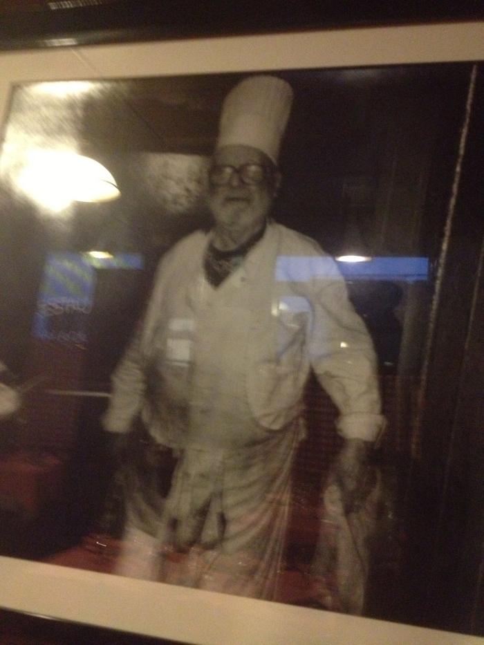 Chez L'Ami Louis Chef Antoine Magnin