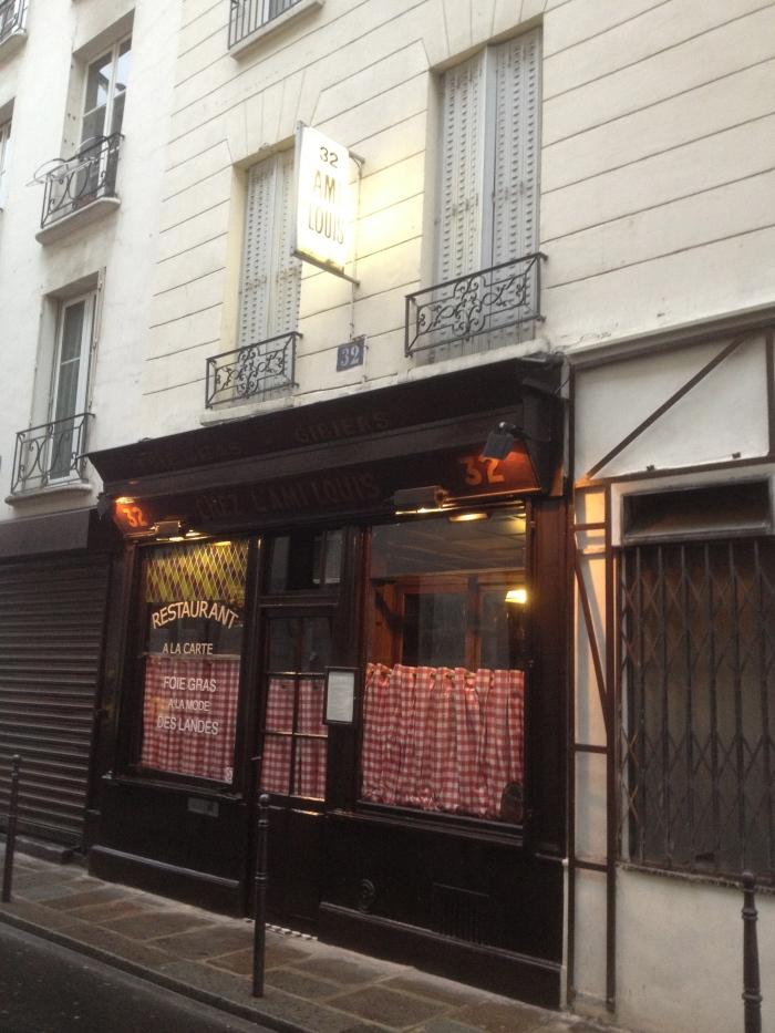 Chez L'Ami Louis Paris