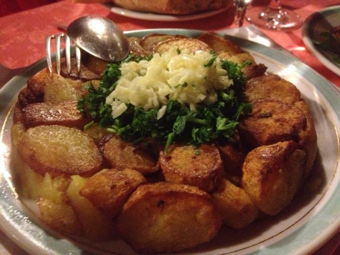 Chez L'Ami Louis potato cake