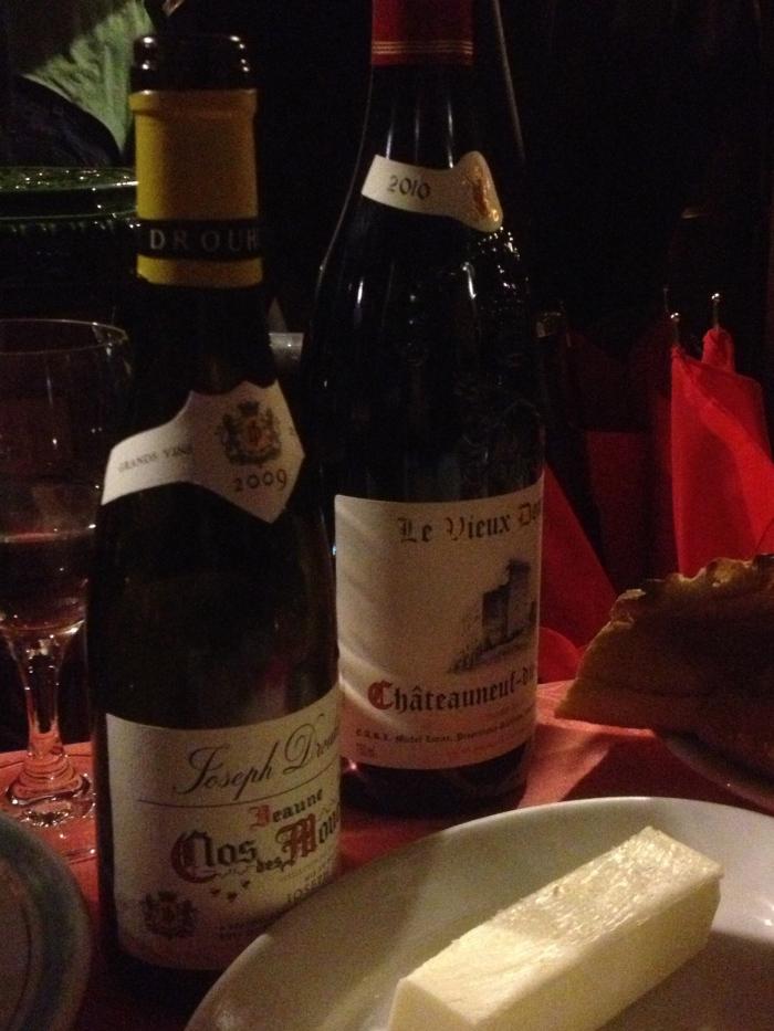 Chez L'Ami Louis wine selections