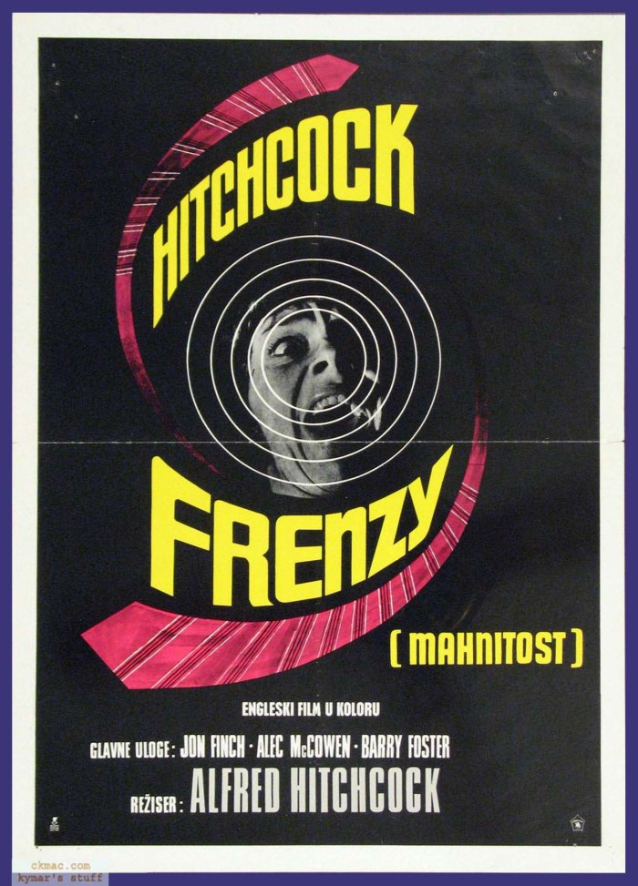 Alfred Hitchcock Frenzy-poster