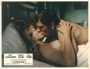 Lawman Burt Lancaster Sheree North