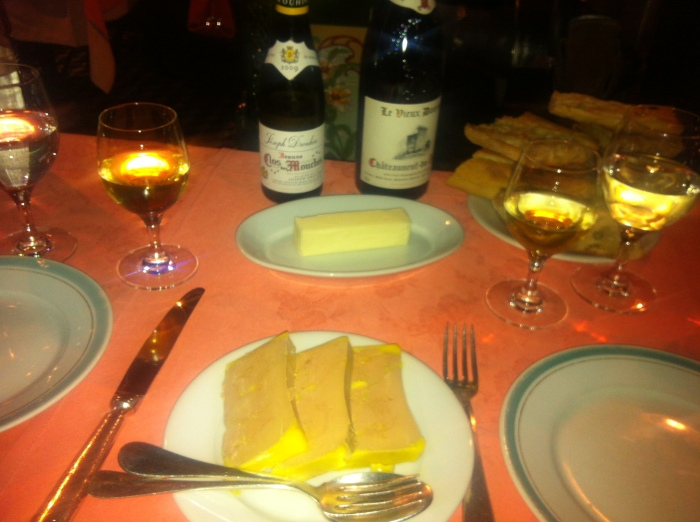Paris bistro Chez L'Ami Louis food