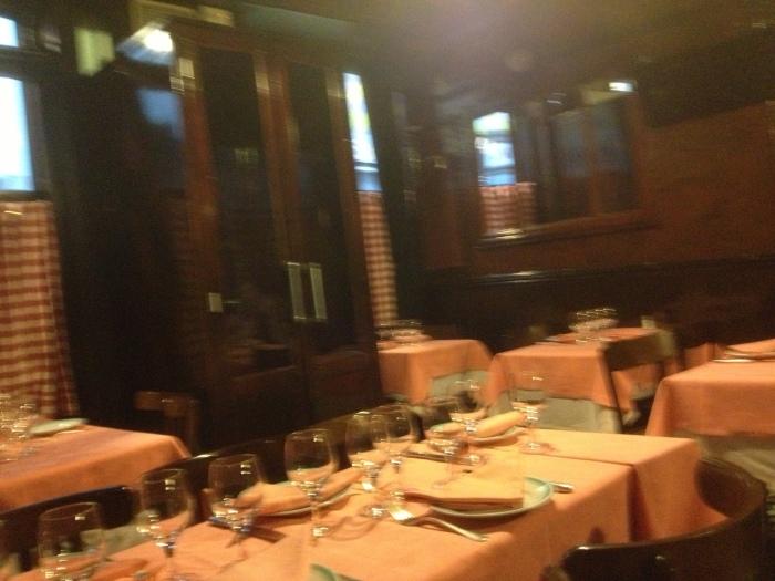 Paris Chez L'Ami Louis restaurant