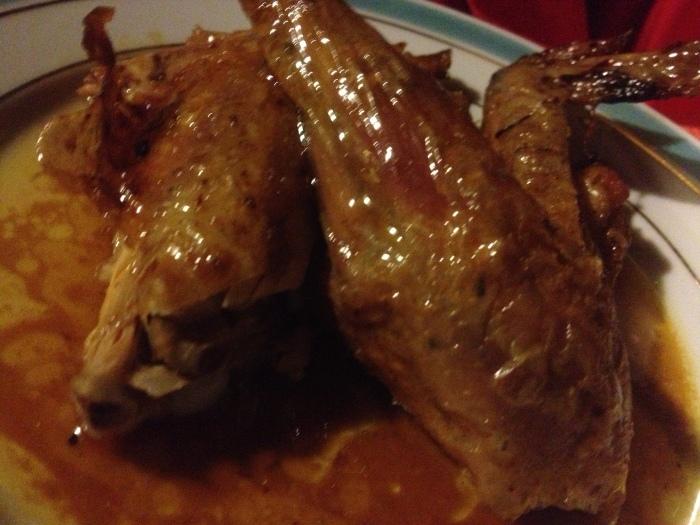 PAris Chez L'Ami Louis roasted poulet roti