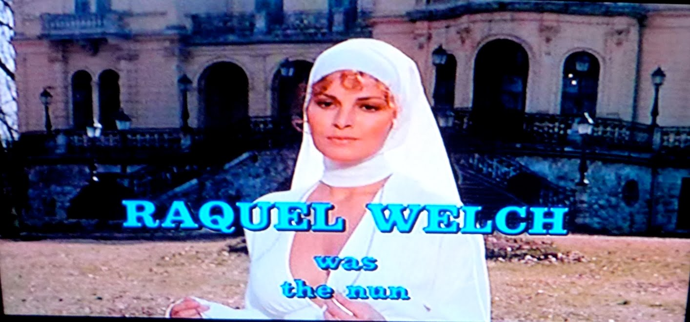 Sex Violence Sexy Nun Raquel Welch Enter The Twisted -1750