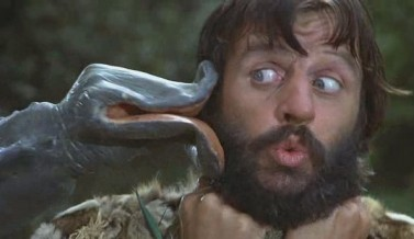 Ringo Starr caveman