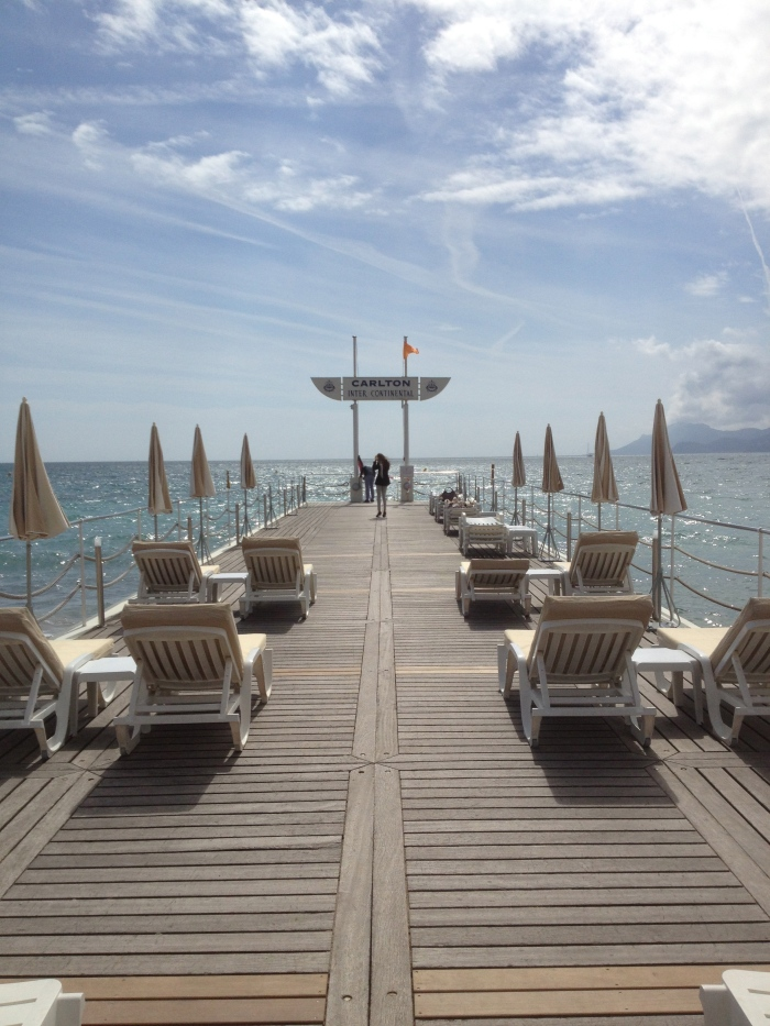 The Carlton Hotel Cannes dock