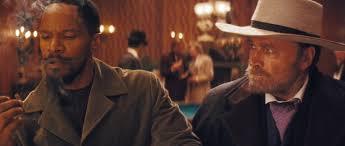 Two Djangos Jamie Fox and Franco Nero