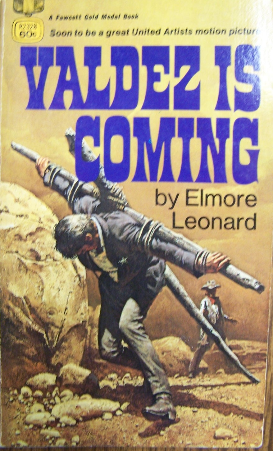 Valdez Is Coming Lawman Gun-Blazing Burt Lancaster -6527