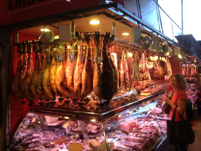 Barcelona Hanging Hams
