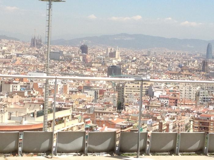 Barcelona Spain skyline