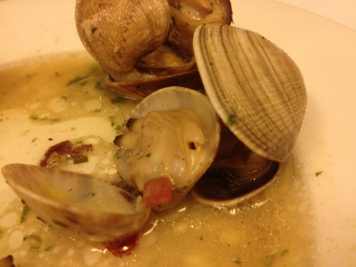 Barcelona tapas fresh clams