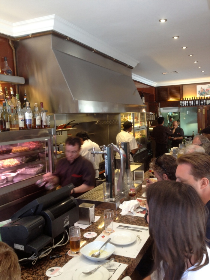 Cal Pep lunch counter Barcelona