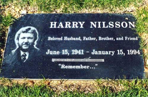Harry Nilsson grave