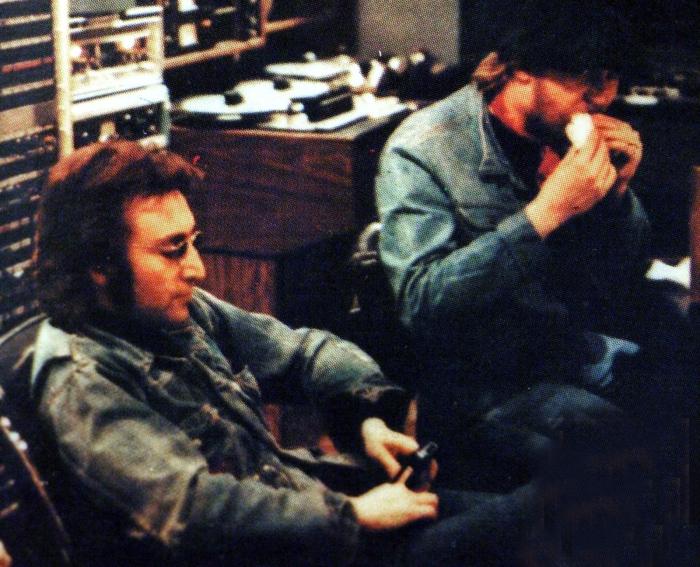Harry Nilsson Producing John Lennon