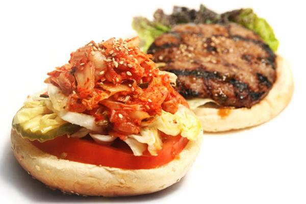 korean kimchi-burger