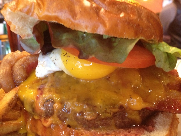 Chicago's best burger Kumas Burger