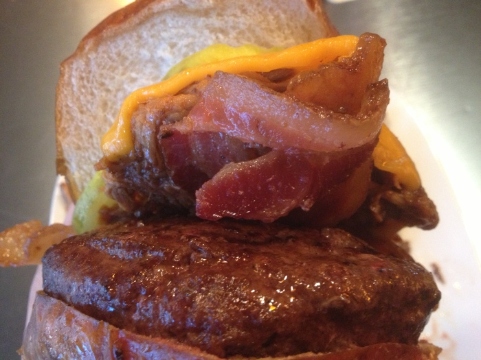 Kuma's Led Zeppelin Burger