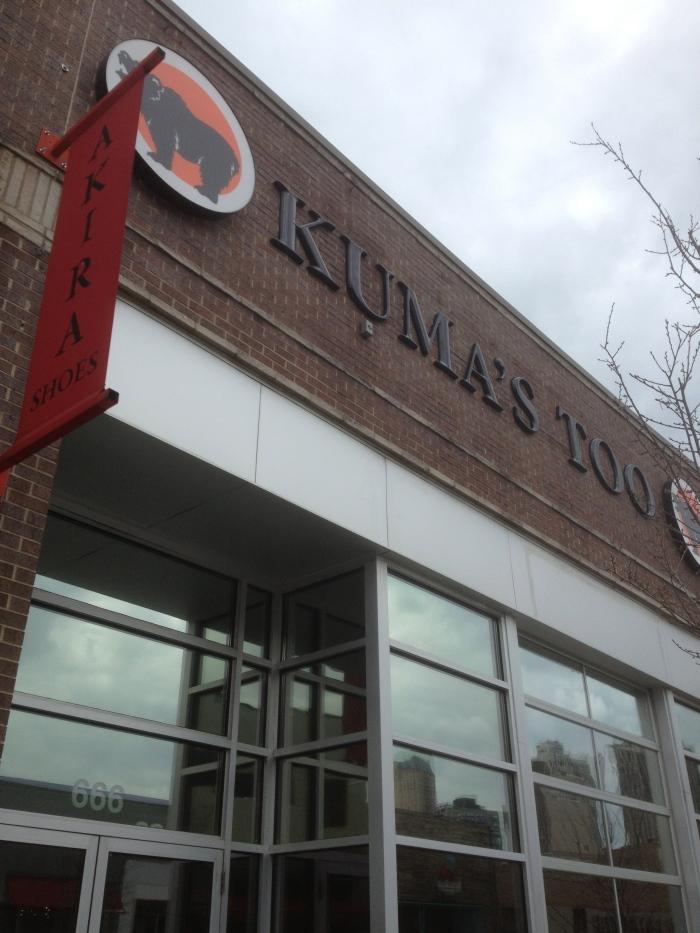 Kuma's Too Chicago burgers