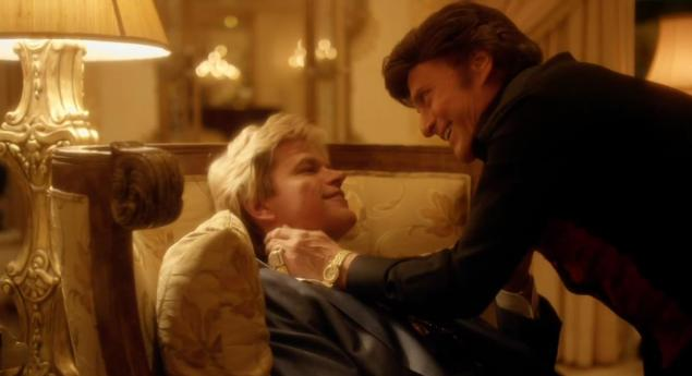 Matt Damon Michael Douglas love scene