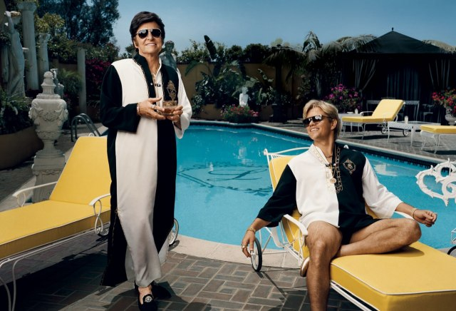 Michael Douglas Matt Damon Behind The Candelabra