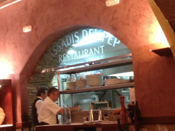 Passadis del Pep Barcelona restaurant