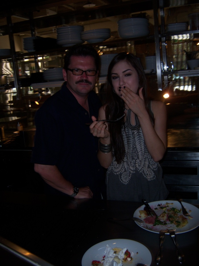 Sasha Grey John Rieber cooking
