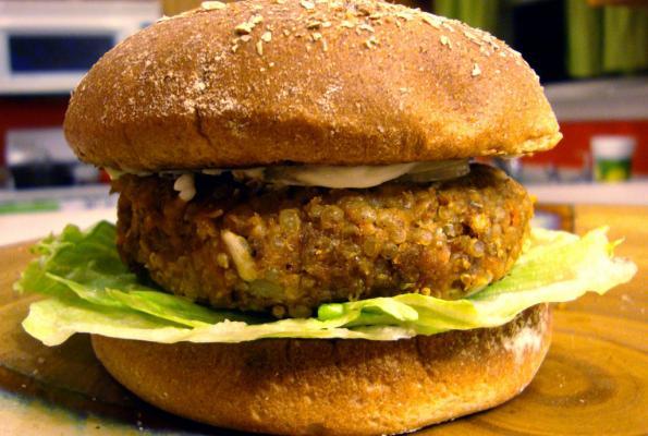 vegetarian nutburger recipe