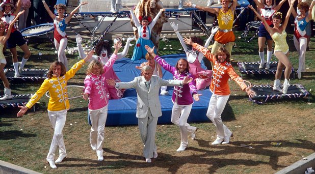 bee gees and george burns sgt. peppers