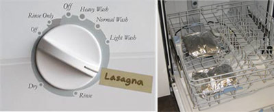 dishwasher lasagna