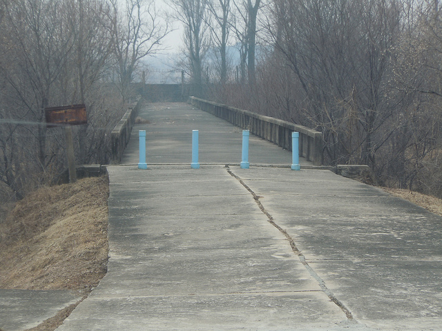 Korean bridge to nowhere
