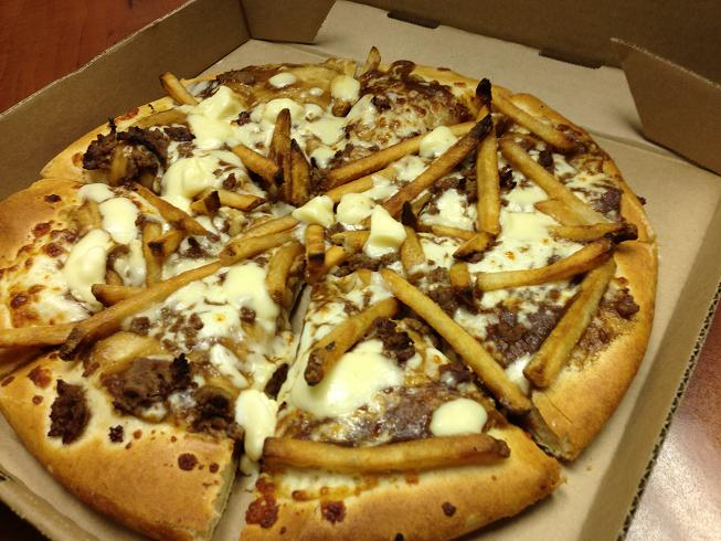 pizza hut poutine pizza