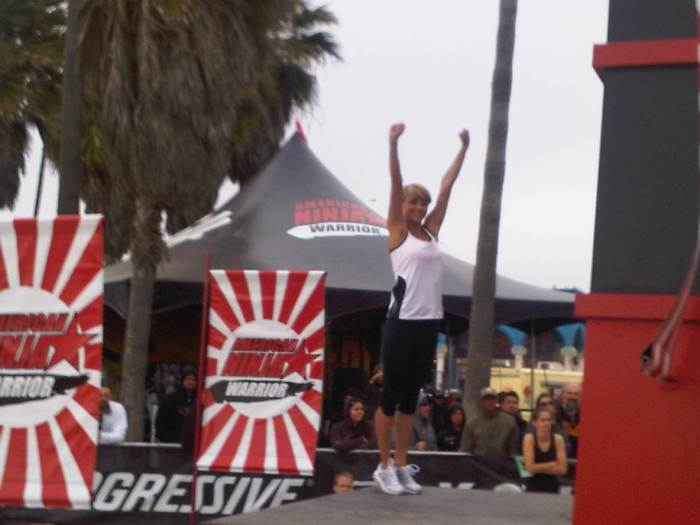 Sara Underwood at American Ninja Warrior