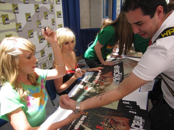 Sara Underwood Comic-Con