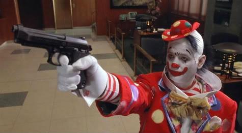 Bill Murray as a clown