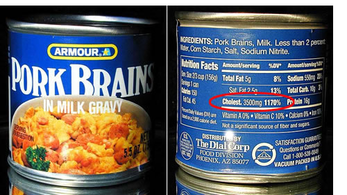 bizarre canned food