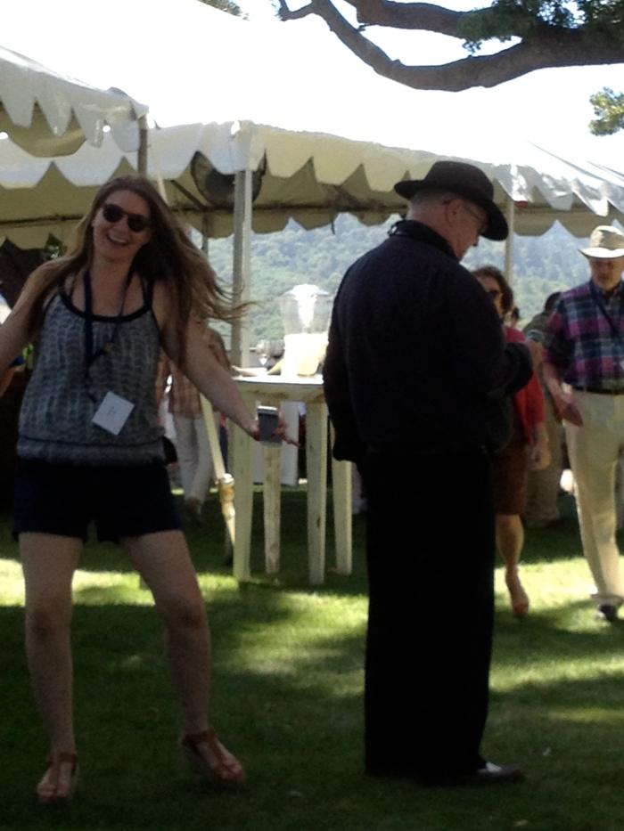Emerlee Nelford dancing