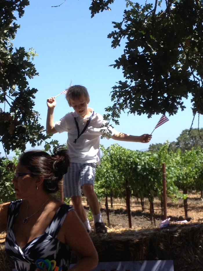 Grgich grandson dancing