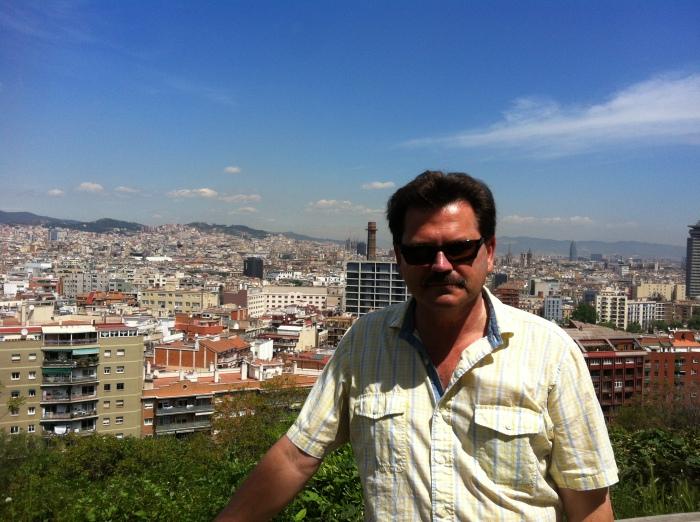 John Rieber at Monjuic