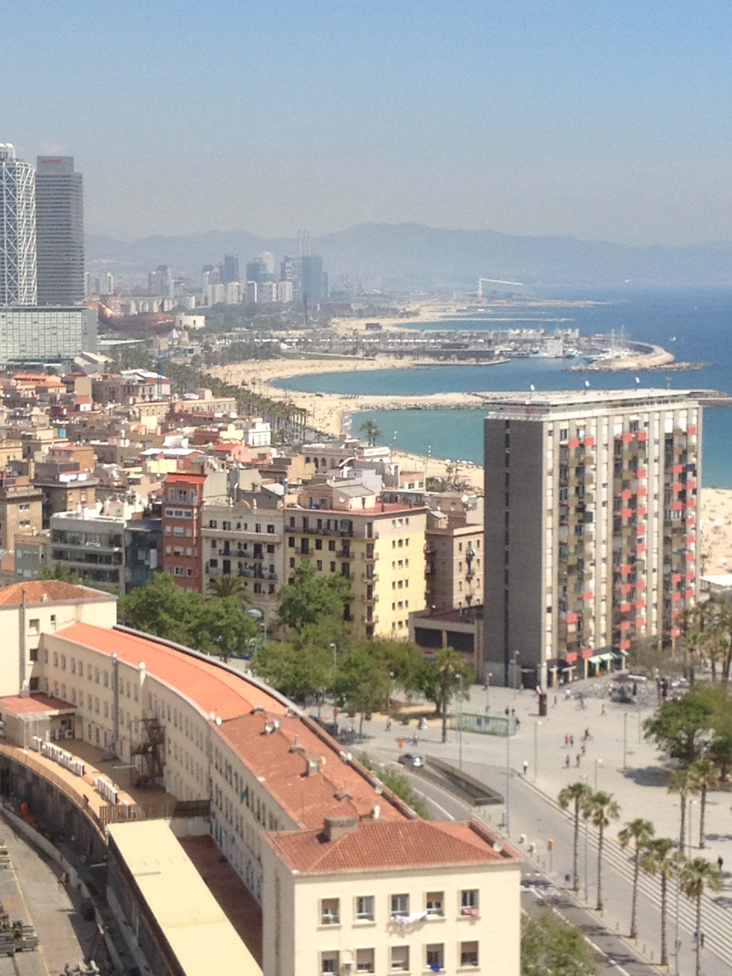 WS Barcelona from the sky