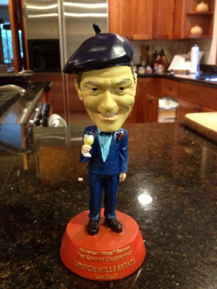 Mike Grgich bobblehead
