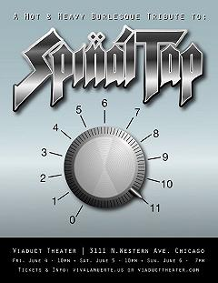 Spinal Tap Tribute Flier