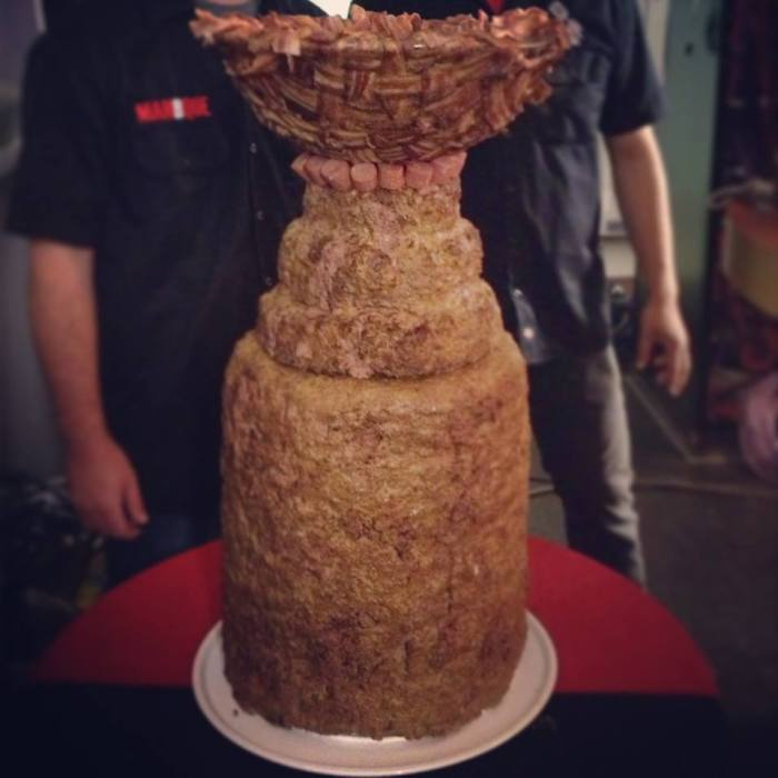 Stanley Cup Made Of Meat