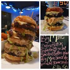 The Big Manc Burger