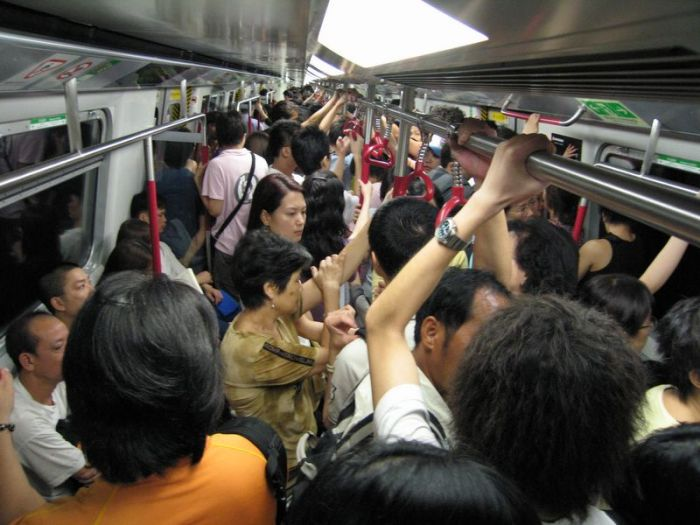 worlds most crowded subway