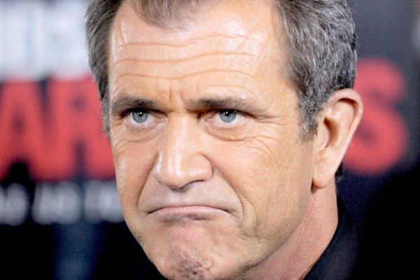 angry mel gibson