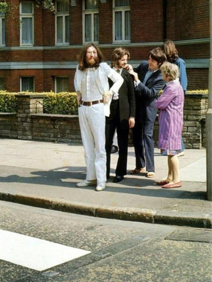 Beatles just before Abbey Road pic