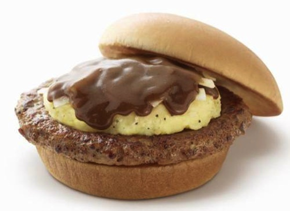demi-glace cheeseburger