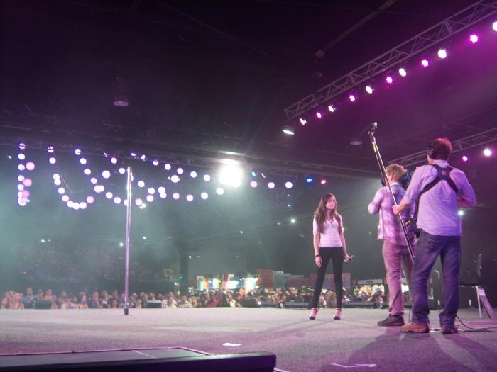 Sasha Grey On Sexpo Stage